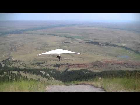 Hang Gliding Big Horn Mountains Wyoming