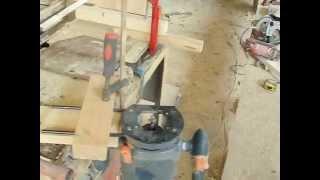 Фрезер ручной в стационарный за 5 минут / Hand mill in stationary for 5 minutes / Фрезер самодельный