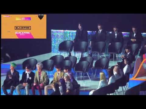 Idols reaction to BLACKPINK and TWICE win Global Artists Top 12 at VLIVE Heartbeat Awards 2019