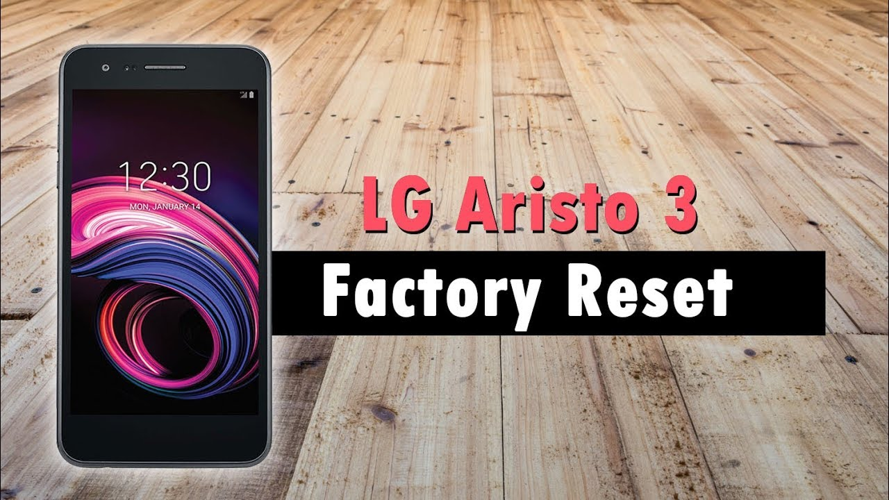 LG Aristo 3 How to Reset Back to Factory Settings & Backup Your Data