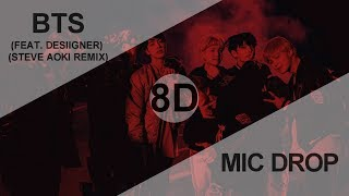 Cover images BTS (방탄소년단) - MIC DROP (FEAT. DESIIGNER) (STEVE AOKI REMIX) [8D USE HEADPHONE] 🎧
