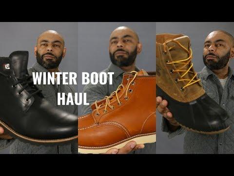 Winter 2019 Boot Haul Featuring Moosejaw