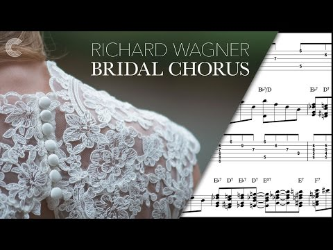 Cello - Here Comes the Bride - Richard Wagner - Sheet Music, Chords, & Vocals