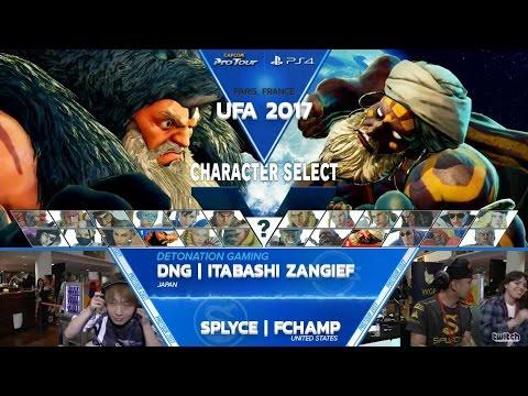 SFV: DNG Itabashi Zangief vs SPLYCE FChamp - UFA 2017 Winners Final - CPT 2017