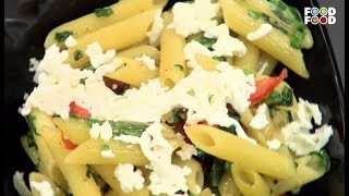 Spinach Pasta | Go Healthy | Chef Sahil Arora | FoodFood