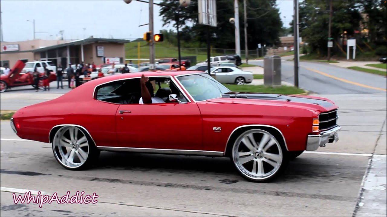 "WhipAddict: 71' Chevelle SS on 24"" Rasoio Forgiato riding ..."