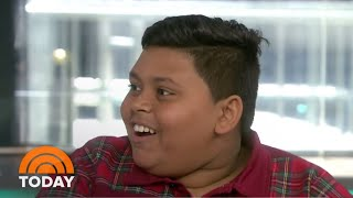 Boy Who Stunned 'AGT' Judges Recounts His Golden Buzzer Moment | TODAY