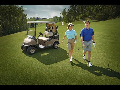 Giới thiệu ô tô điện sân Golf RXV Fleet - AC Electric 48v