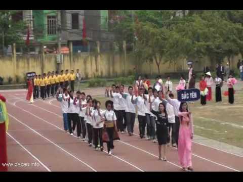 Lễ diễu hành khai mạc đại hội TDTT tỉnh Sơn La lần VI - 2010 rec by dacau.info
