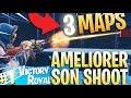 3 MAPS POUR AMELIORER SON SHOOT SUR FORTNITE - TUTO MODE CREATIF