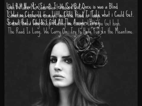 Born To Die - Lana Del Rey (Lyrics) - YouTube