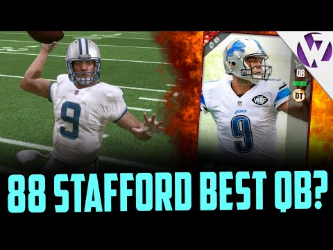 FOOTBALL OUTSIDERS STAFFORD BEST QB IN THE GAME?!?! - MADDEN 17 FBO STAFFORD GAMEPLAY