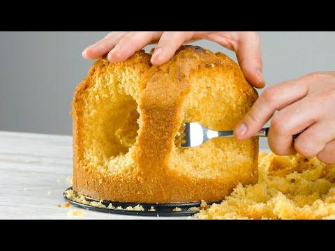 sortir-l'intérieur-du-gâteau-avec-une-fourchette- -le-résultat-final-est-impressionnant