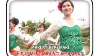 MARIA BACHOK - MARI MENARI (karaoke)