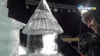 Как создают ледовые скульптуры?