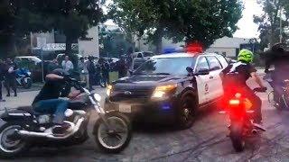 Cops vs Bikers 2018 | Encounters & Pullovers