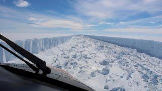 أخبار عالمية | انفصال أكبر جبل جليدي بالتاريخ عن #القطب_الجنوبي