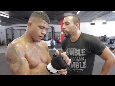 Gilbert Durinho Burns prepares for UFC Fight Night Pittsburgh