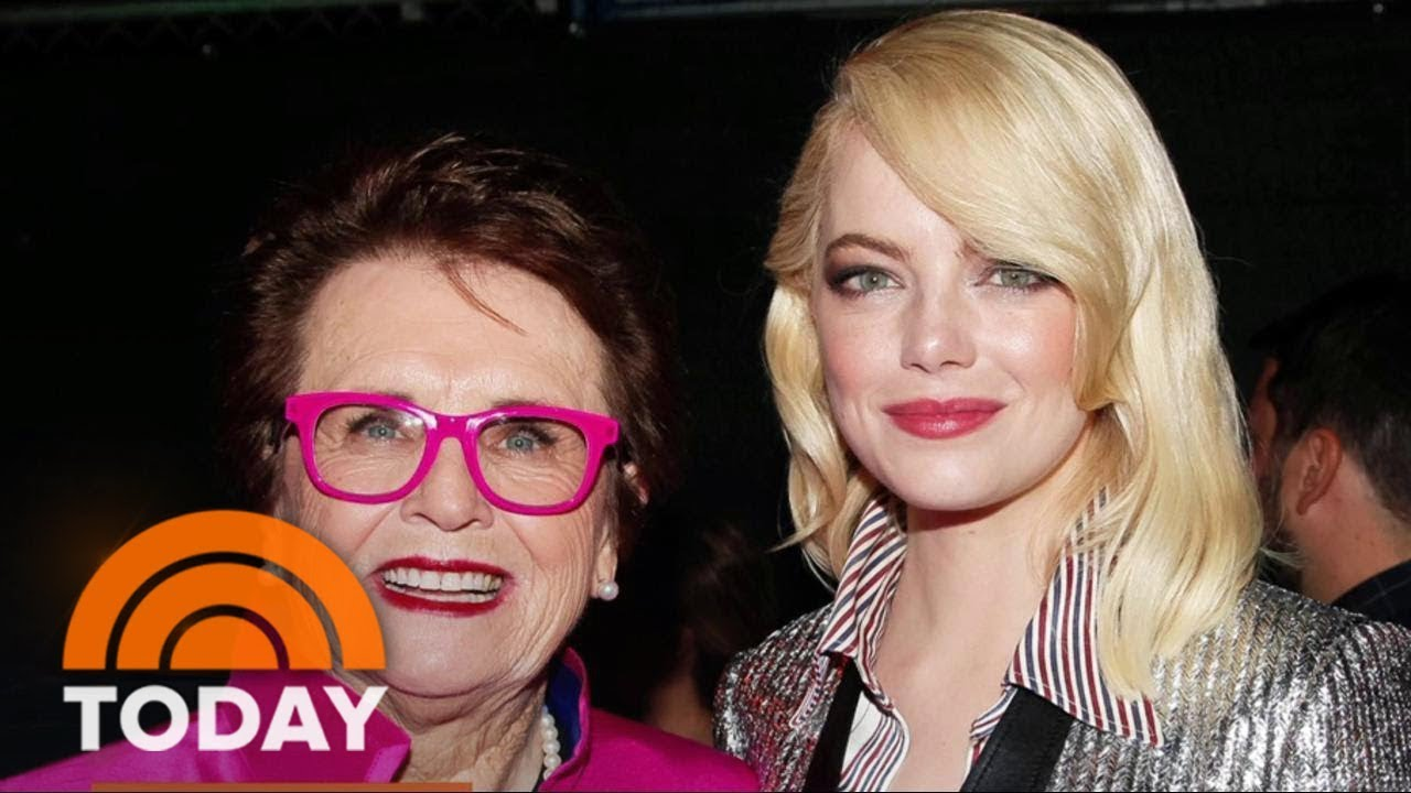 Emma Stone Playing Billie Jean King In Battle Of The Sexes Was Huge Honor Today Youtube