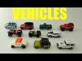 Learning numbers and counting with Off - Road vehicles - Matchbox, Hot Wheels