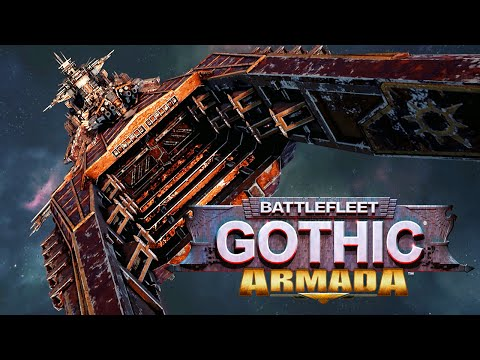 Battlefleet Gothic - RAMMING ORC SHIPS IN SPACE! (Open Beta Gameplay)