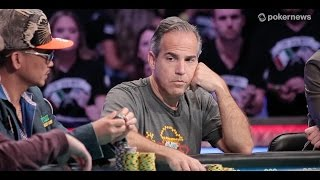2016 WSOP Main Event:  Cliff Josephy Eliminated in 3rd Place ($3,451,175)