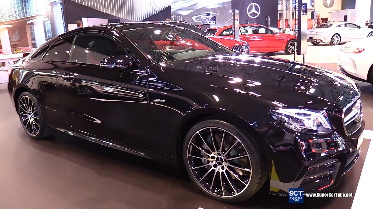 2019 Mercedes Amg E Class E53 Coupe Exterior And Interior Walkaround 2018 New York Auto Show