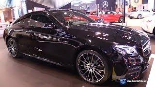 2019 Mercedes AMG E Class E53 Coupe - Exterior and Interior Walkaround - 2018 New York Auto Show