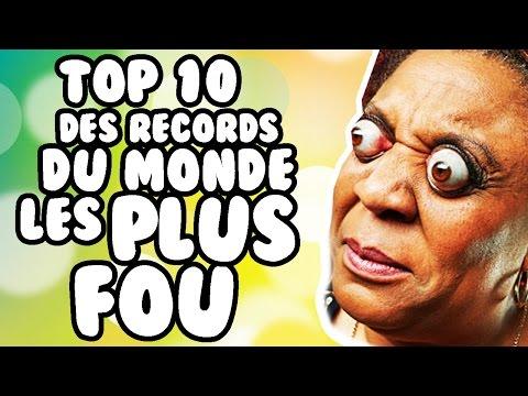 TOP 10 DES RECORDS DU MONDE LES PLUS FOU