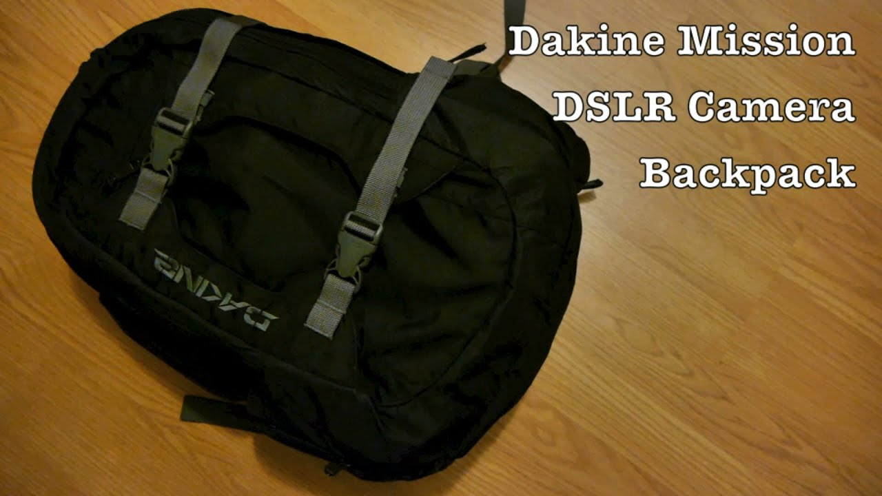 Dakine Mission Backpack DSLR Camera Bag w/ Laptop Storage & Padded ...