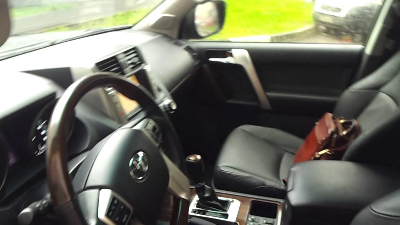 Toyota Land Cruiser Prado 150 - салон, багажник, третий ряд