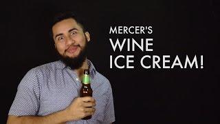 Mercer's Wine Ice Cream - Riesling, Red Raspberry Chardonnay, & Cherry Merlot