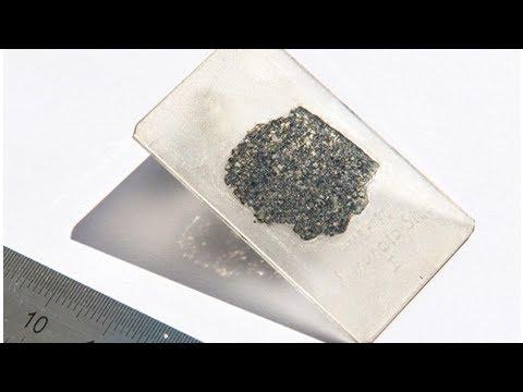 """Ученые обнаружили """"космический алмаз"""" с """"планеты-зародыша"""" внутри упавшего в Африке метеорита (ВИДЕ"""