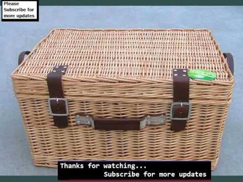 Wicker Hamper Baskets Set Collection