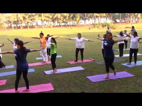 Bollywood Yoga Dance at Priyadarshini Park