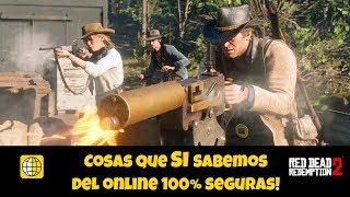Datos que SI sabemos del online 100% seguro! Red Dead Redemption 2!