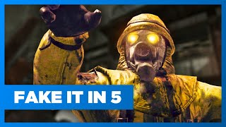 Call Of Duty: Zombies - Fake It In 5