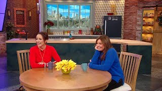Rach Gets Emotional As Patricia Heaton Thanks Her For Supporting Her Philanthropic Efforts