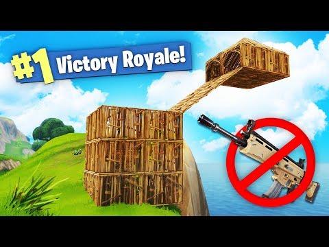 We WON Fortnite using NO WEAPONS