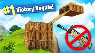 We WON Fortnite using NO WEAPONS