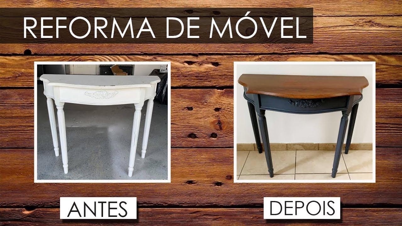 #16 DIY - REFORMA DE MÓVEL - LIXO DOS ESTADOS UNIDOS