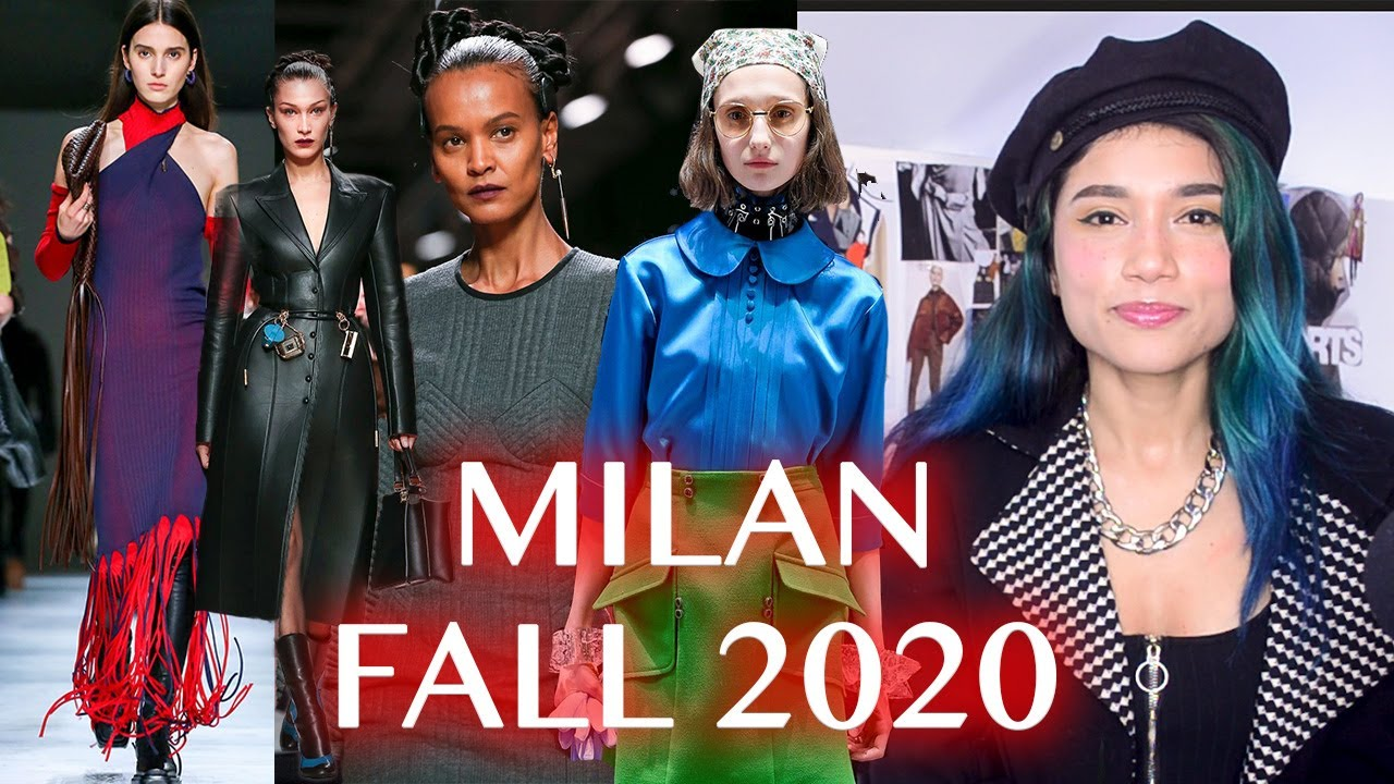 TOP FALL 2020 TRENDS IN MILAN FASHION WEEK