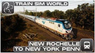 Train Sim World - New Rochelle to New York Penn (Amtrak ACS 64)