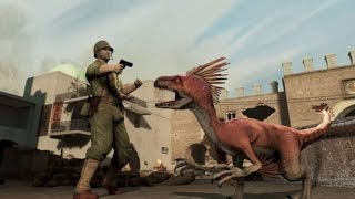 Dino D Day Epsiode 1 - World war 2 with DINOSAURS?