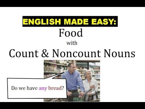 Intro Unit 9 Food & Count Vs Noncount Nouns