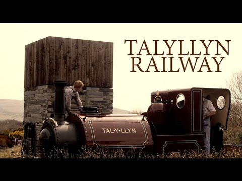 Talyllyn narrow gauge steam railway in Wales