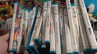My Nintendo Wii U Complete Game Collection