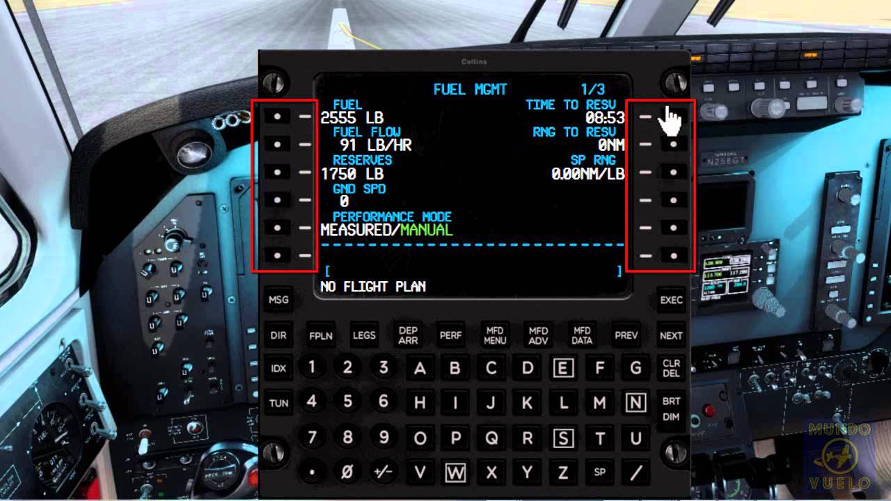 avion fsx fmc