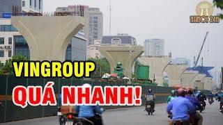 Ngỡ ngàng với Đường vành Đai 2 trên cao sắp thành hình qua đoạn Trường Chinh của Hà Nội