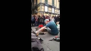 DAMAT DRUMMER - INCREDIBLE STREET TECHNO - NAPOLI